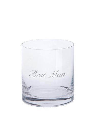 "Dartington ""Best Man"" Just for You Tumbler"