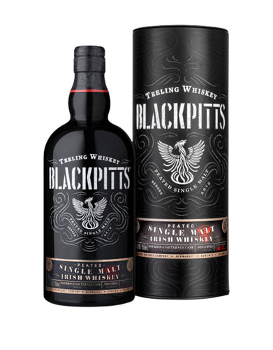Teeling Blackpitts Peated Single Malt Irish Whiskey