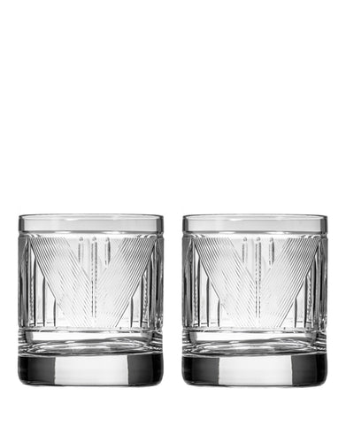 Rolf Glass Bleecker Street On The Rocks (Set of 2)