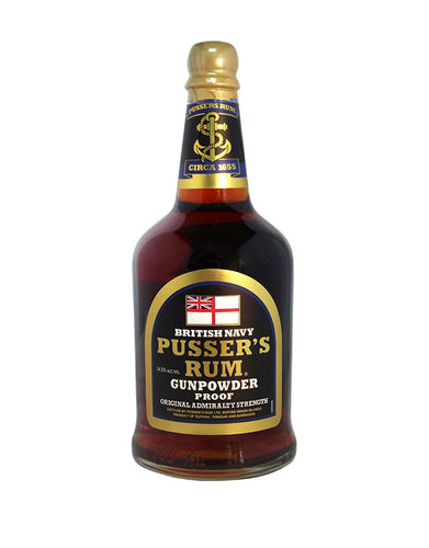 Pusser's Rum Gunpowder Proof