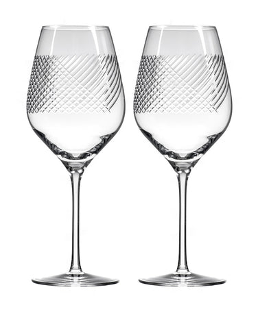 Rolf Glass Bourbon Street Bordeaux (Set of 2)