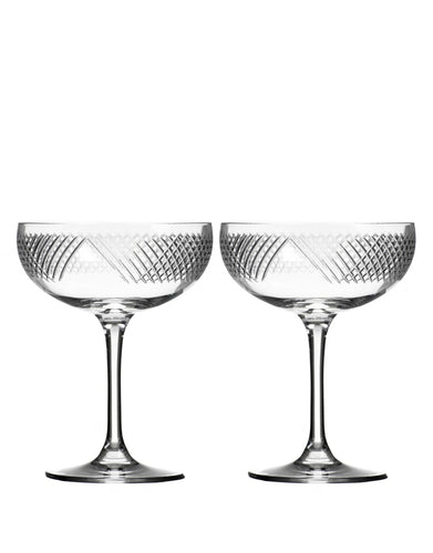 Rolf Glass Bourbon Street Coupe (Set of 2)