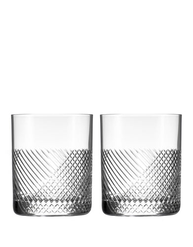Rolf Glass Bourbon Street Double Old-Fashioned (Set of 2)