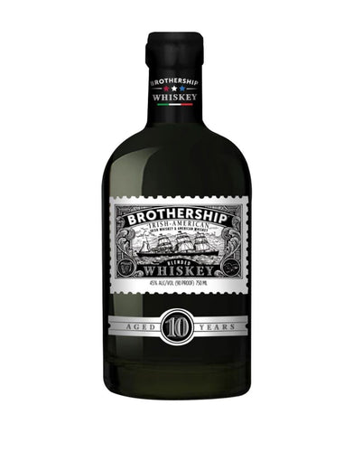 Brothership Irish-American Blended Whiskey Aged 10 Years