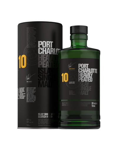 Bruichladdich® Port Charlotte 10 Heavily Peated Islay Single Malt