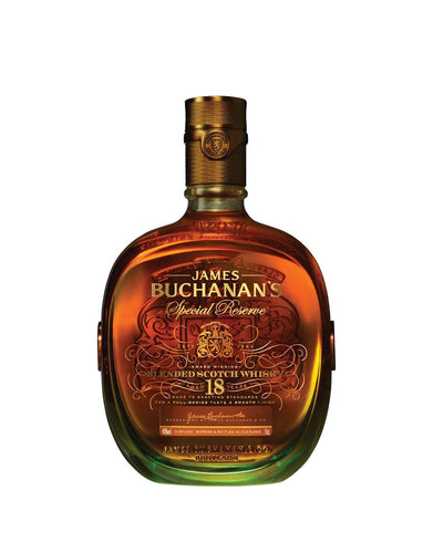 Buchanan's 18 Year Special Reserve Scotch Whisky bottle