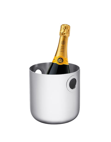 Veuve Clicquot Yellow Label (750ml) with Christofle Oh de Christofle Cooler Bucket
