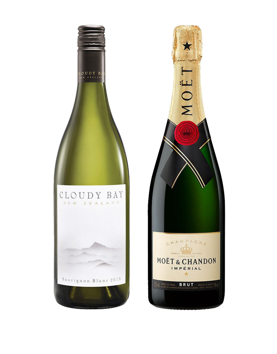 Load image into Gallery viewer, Cloudy Bay Sauvignon Blanc with Moët & Chandon Impérial Brut Gift Set