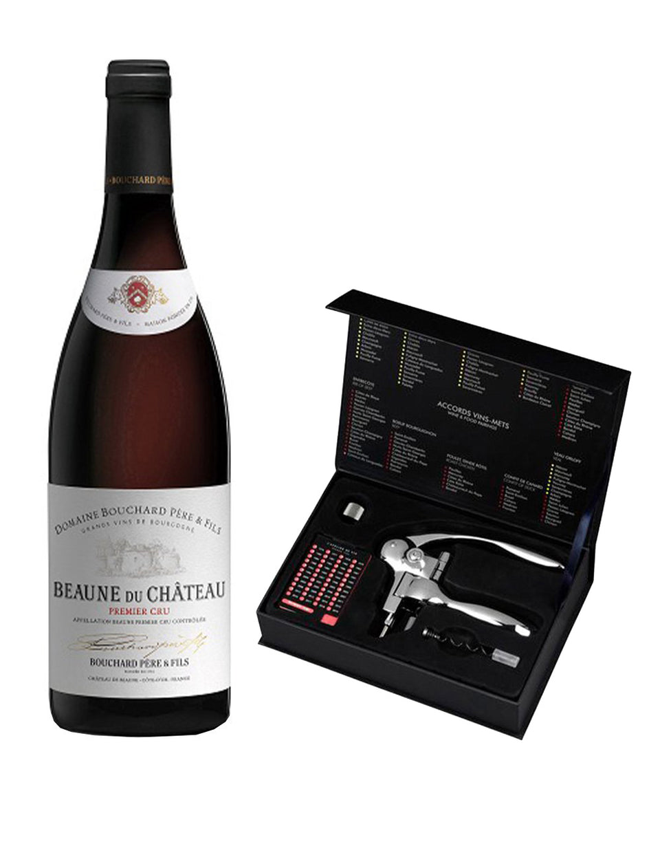 Load image into Gallery viewer, Bouchard Beaune Du Chateau Premier Cru Rouge 2016 with L'Atelier du Vin Oeno Box Sommelier