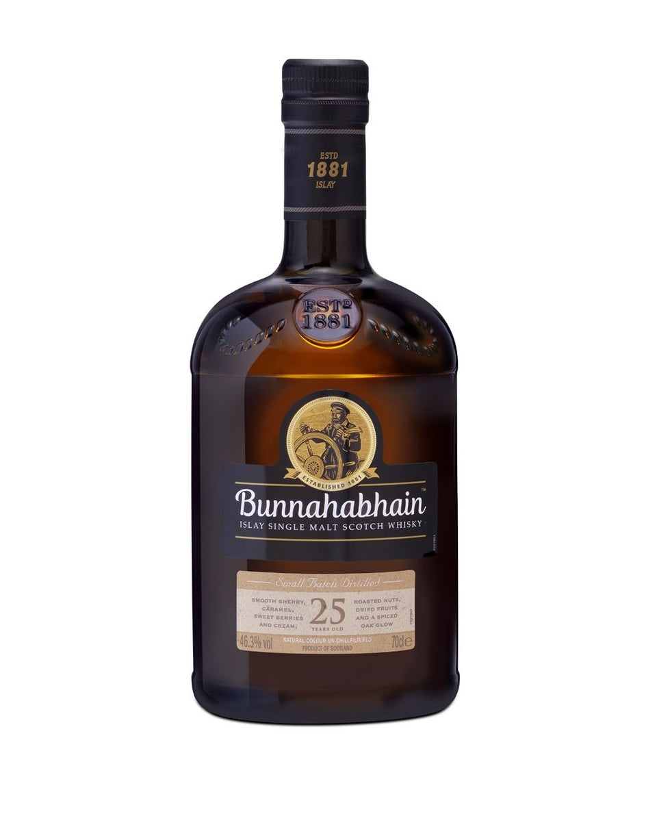 Load image into Gallery viewer, Bunnahabhain 25 Year Old Single Malt Scotch Whisky bottle