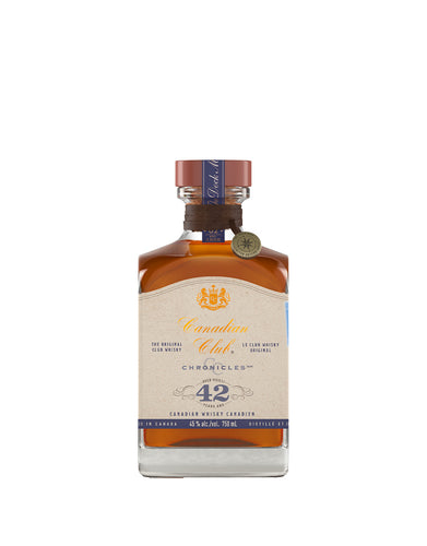 Canadian Club Chronicles 42 Year Old Canadian Whisky