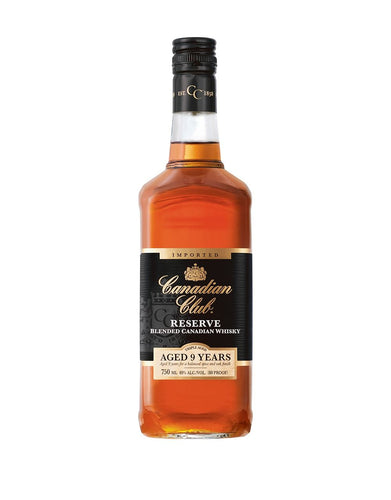 Canadian Club 9 Year Old Reserve Canadian Whisky