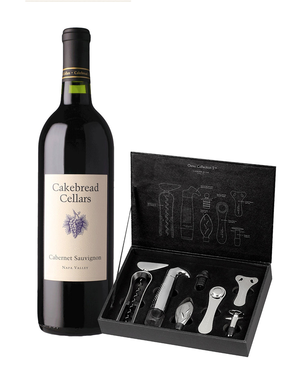 Load image into Gallery viewer, Cakebread Cabernet Sauvignon with L'Atelier du Vin Oeno Collection 2