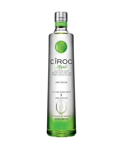CÎROC® Apple Vodka bottle