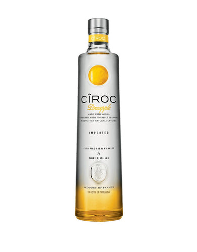 CÎROC® Pineapple Vodka bottle