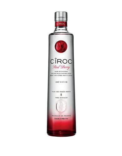 CÎROC® Red Berry Vodka bottle