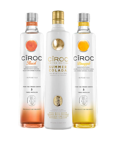 CÎROC Summer Collection (3 bottles)