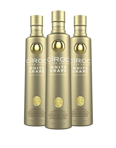 CÎROC White Grape (3 Bottles)