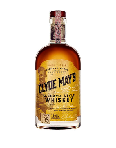 Clyde May's Original Alabama Style Whiskey