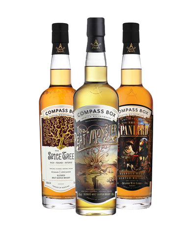 Compass Box (3 Bottles)