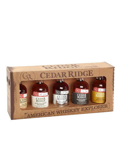 Cedar Ridge American Whiskey Explorer Pack
