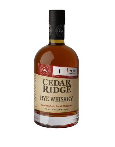 Load image into Gallery viewer, Cedar Ridge Rye Whiskey