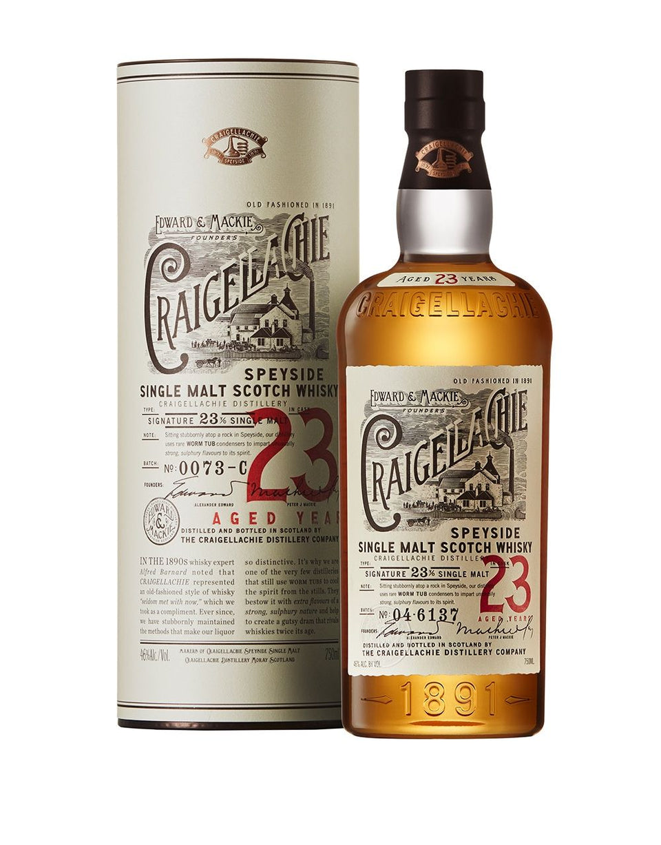 Load image into Gallery viewer, Craigellachie 23 Years Old Single Malt Scotch Whisky bottle and box