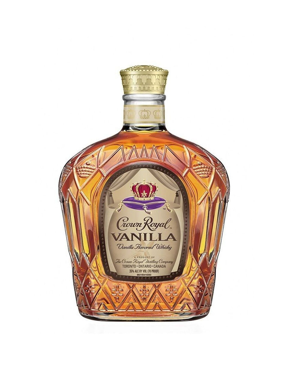 Load image into Gallery viewer, Crown Royal Vanilla whisky bottle