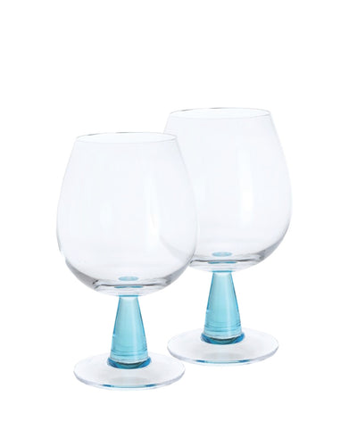 Dartington Gin Connoisseur Copa Blue Pair (set of 2)