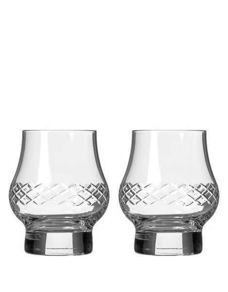 Rolf Glass Diamond Bourbon Whiskey (Set of 2)