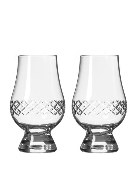 Rolf Glass Diamond Scotch Glencairn (Set of 2)