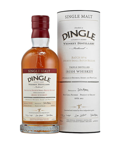 Dingle Single Malt Irish Whiskey Batch #4