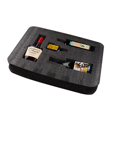 Load image into Gallery viewer, VinGardeValise Grande 05 Wine Suitcase Insert