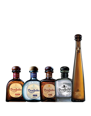 Don Julio Collection (5 bottles)