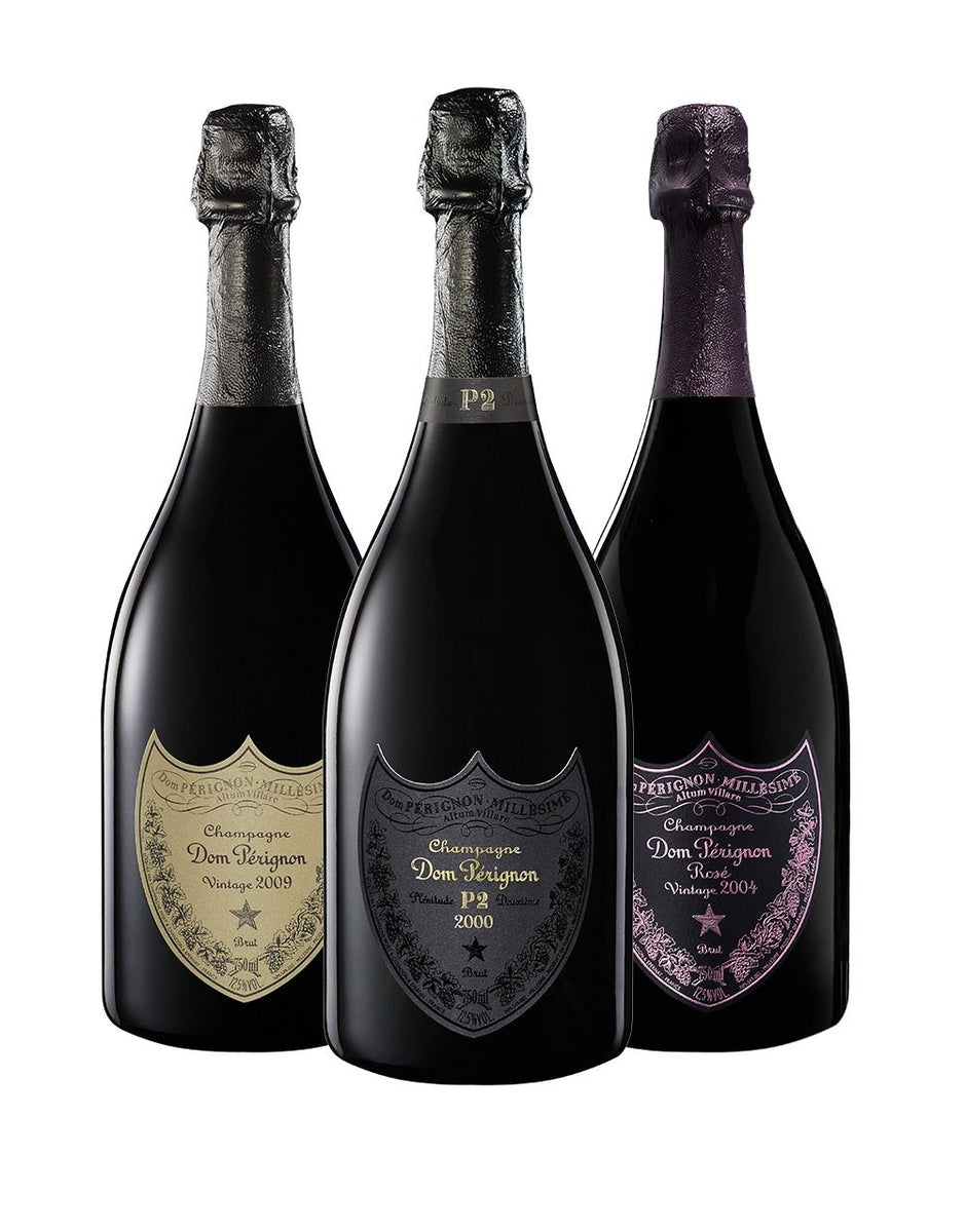 dom p rignon collection 3 bottles buy online or send as a gift reservebar