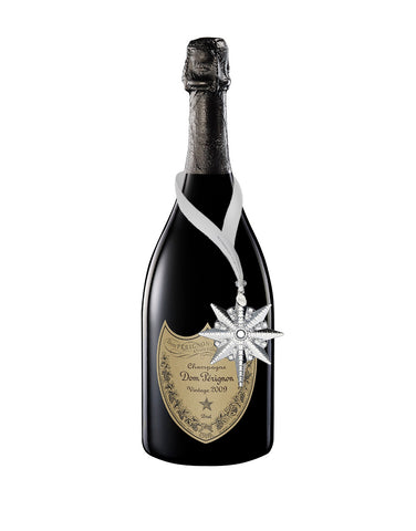 Load image into Gallery viewer, Dom Pérignon Vintage with Waterford Snowstar Ornament