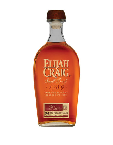 Elijah Craig Small Batch Bourbon Whiskey bottle