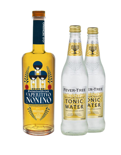 L'Aperitivo Nonino Botanical Drink with Two Fever-Tree Indian Tonic Waters