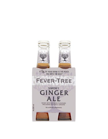 Fever-Tree Smoky Ginger Ale (4 pack)