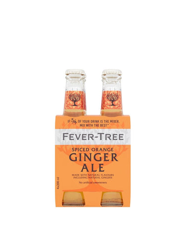 Fever-Tree Spiced Orange Ginger Ale (4 pack)