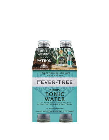Fever-Tree Citrus Tonic Water (4 Pack)