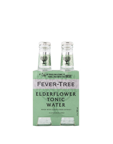 Fever-Tree Elderflower Tonic Water (4 Pack)