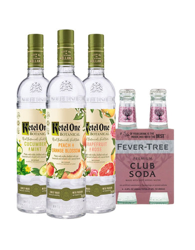 Ketel One® Botanical Collection with Fever-Tree Club Soda