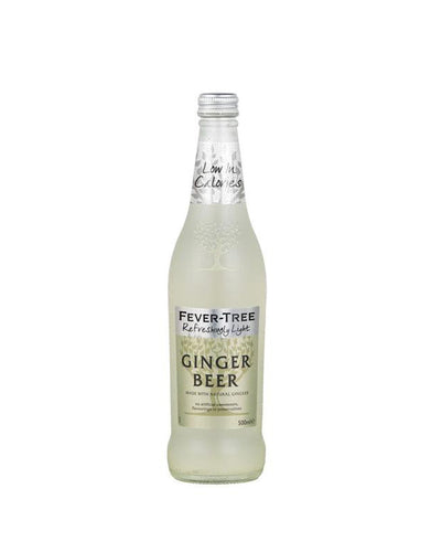 Fever-Tree Refreshing Light Ginger Beer (500ml)