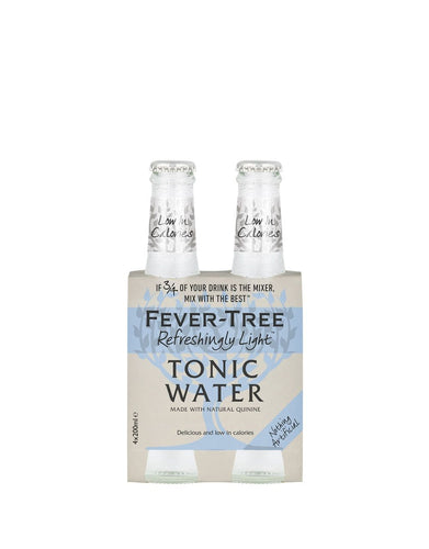 Fever-Tree Refreshing Light Indian Tonic (4 Pack)