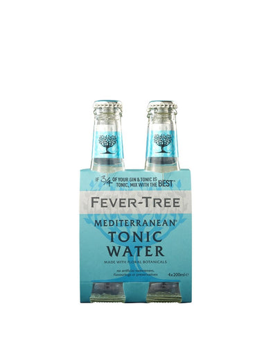 Fever-Tree Mediterranean Tonic Water (4 Pack)