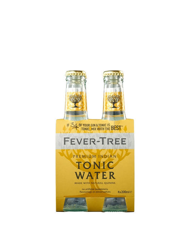 Fever-Tree Indian Tonic Water (4 Pack)