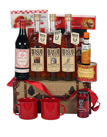 "High West ""Aim High"" Gift Basket"