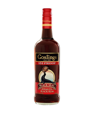 Goslings Black Seal Rum (151 Proof)