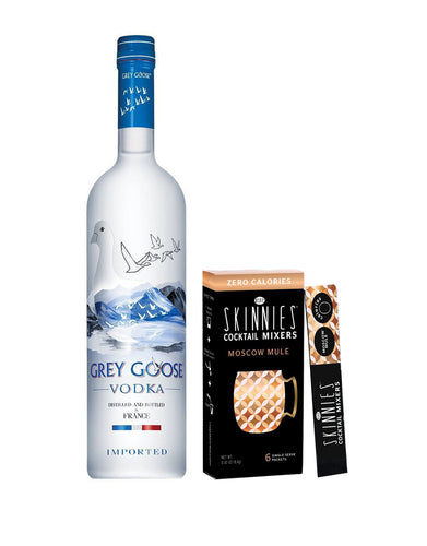 Grey Goose® Vodka with Skinnies Moscow Mule Mixer